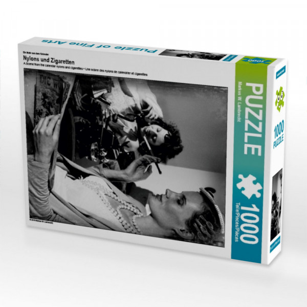 Puzzle Nylons und Zigaretten