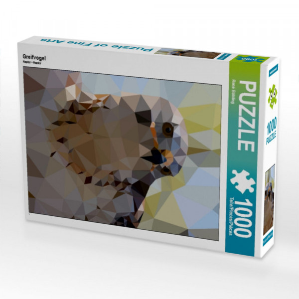 Puzzle Greifvogel