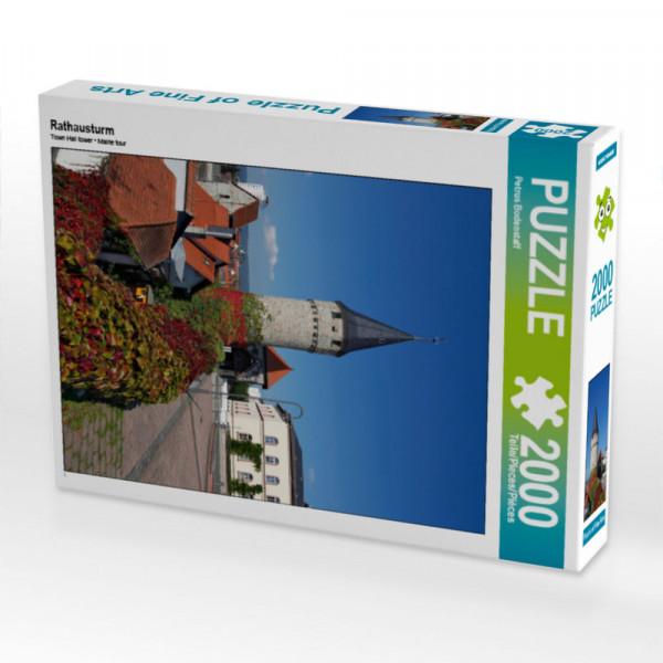 Puzzle Rathausturm Foto-Puzzle Bild von Bodenstaff Petrus