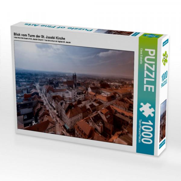 Puzzle Blick vom Turm der St. Jacobi Kirche