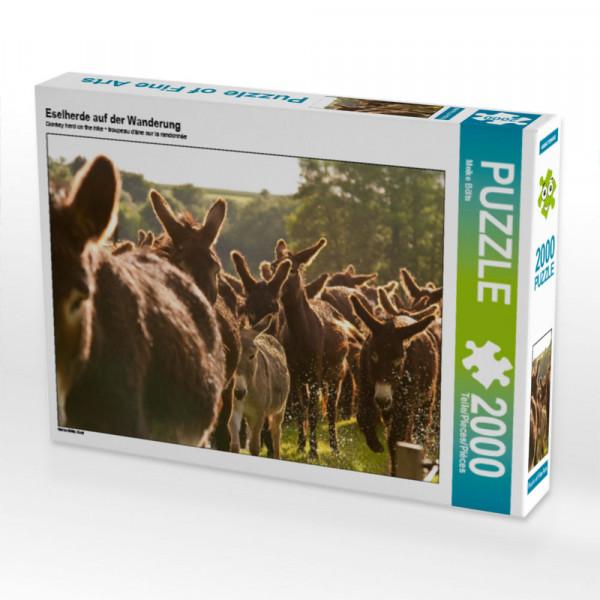 Puzzle Eselherde auf der Wanderung Foto-Puzzle Bild von Bölts Meike
