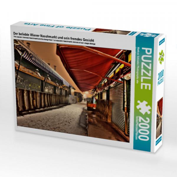 Puzzle Der beliebte Wiener Naschmarkt und sein fremdes Gesicht Foto-Puzzle Bild von Schieder Photography aka Creat