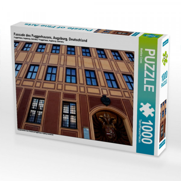 Puzzle Fassade des Fuggerhauses Augsburg Deutschland
