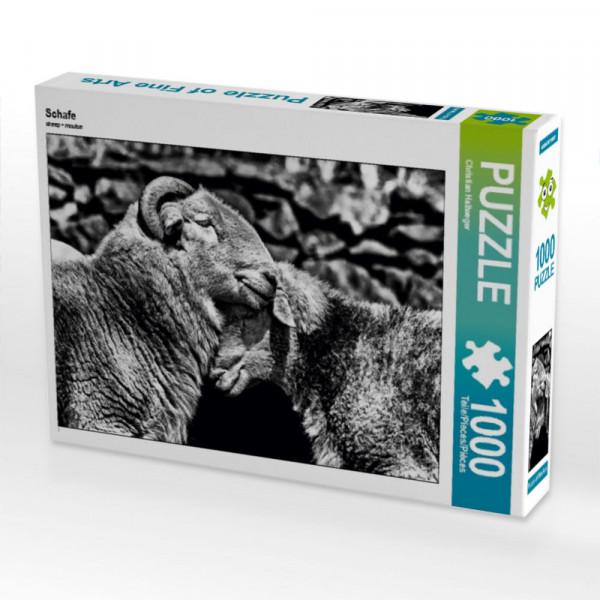 Puzzle Schafe