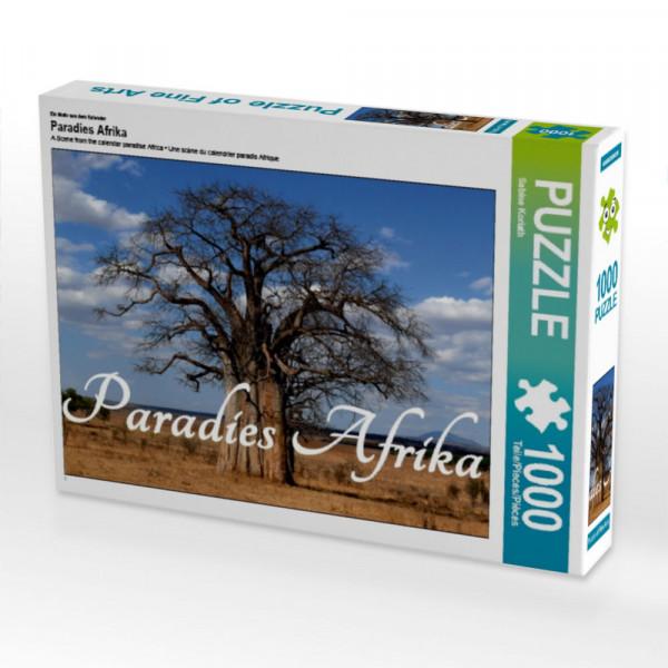 Puzzle Paradies Afrika