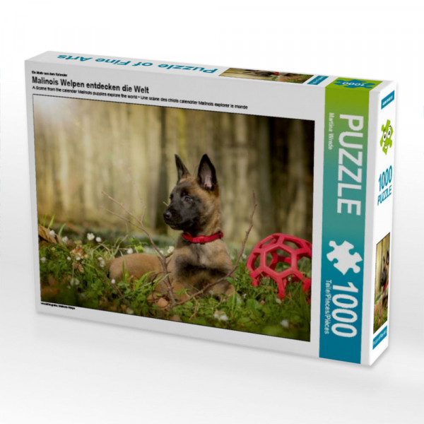 Puzzle Junger Hund