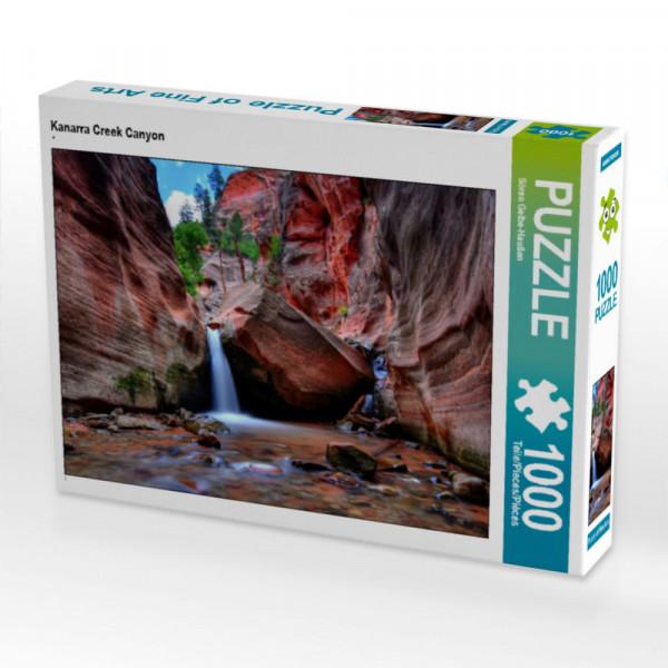 Puzzle Kanarra Creek Canyon