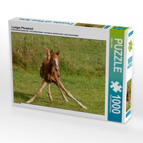 Puzzle Lustiges Pferdekind
