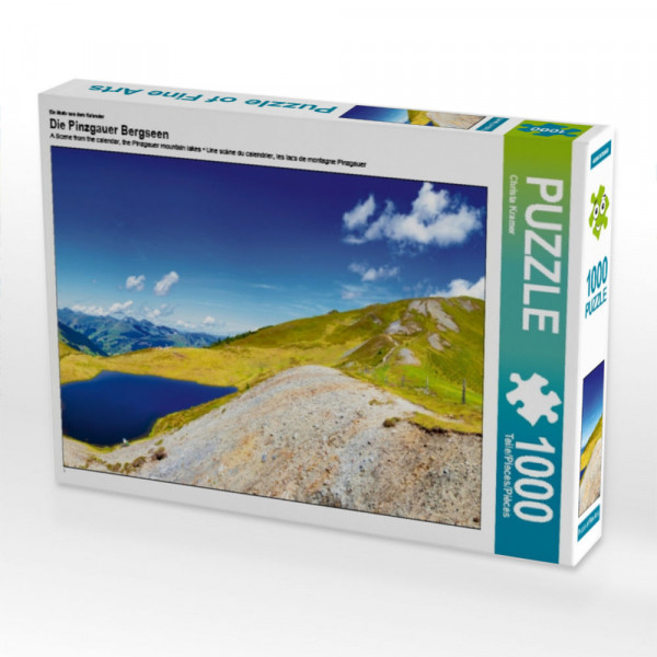 Puzzle Die Pinzgauer Bergseen