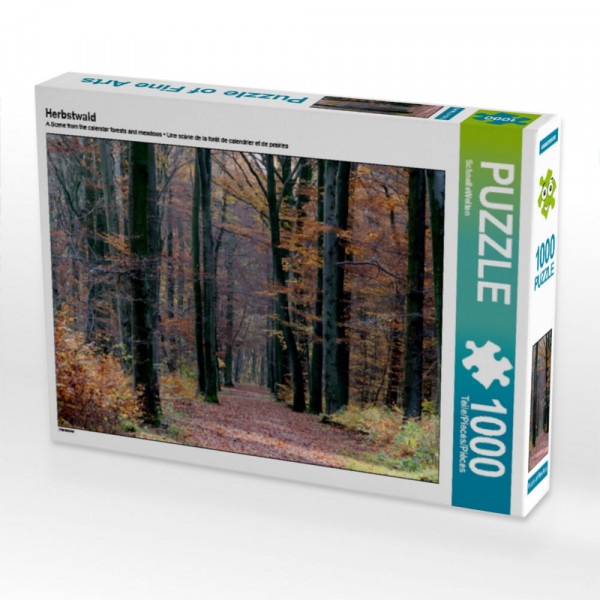 Herbstwald Puzzle 1