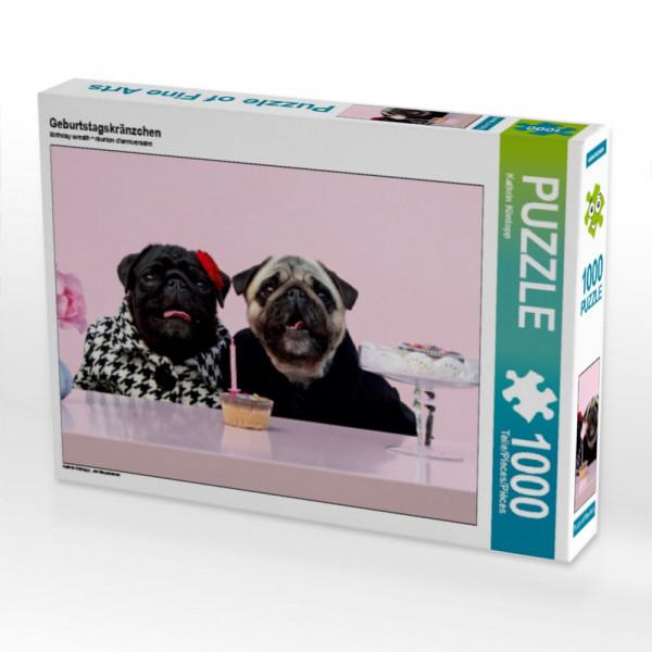 Puzzle Geburtstagskränzchen