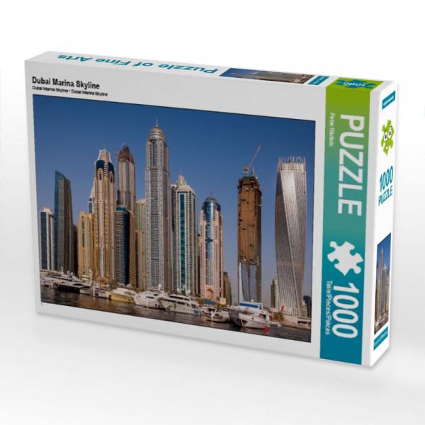 Puzzle Dubai Marina Skyline