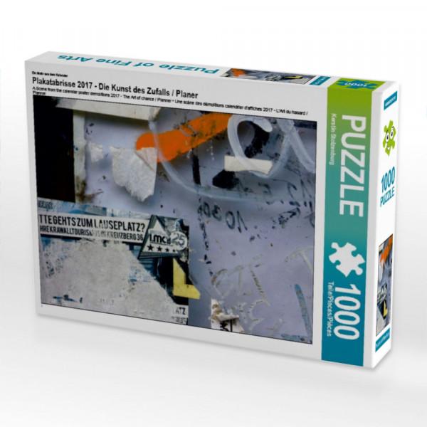 Puzzle Plakatabrisse 2017 - Die Kunst des Zufalls / Planer