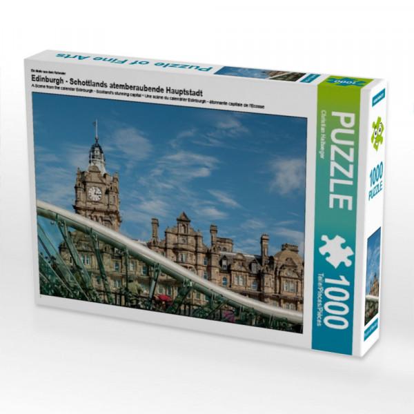 Puzzle Edinburgh - Schottlands atemberaubende Hauptstadt