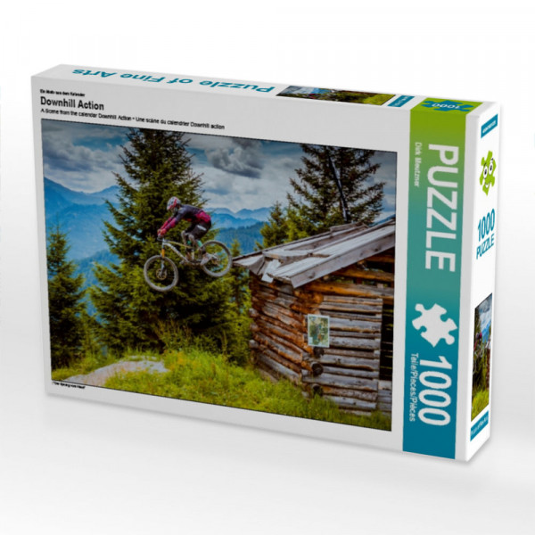 Puzzle Downhill Action