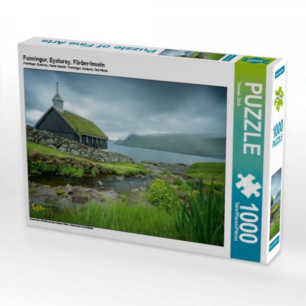 Puzzle Funningur Eysturoy Färöer-Inseln