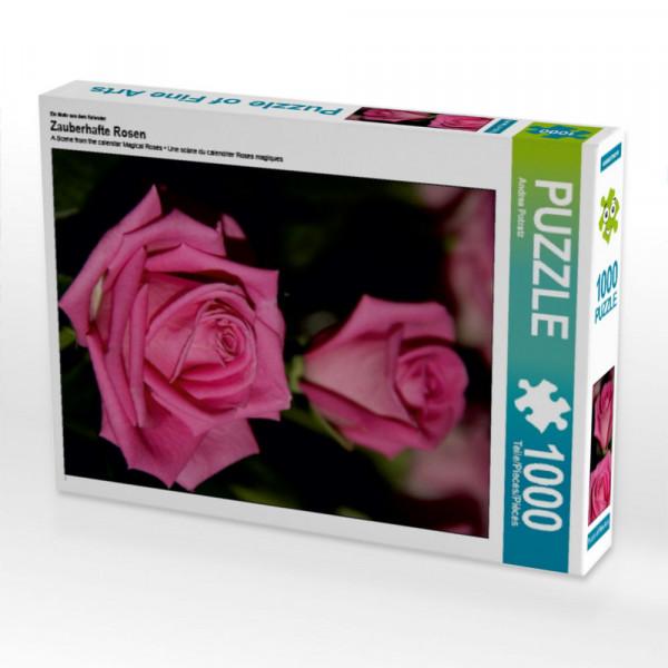 Puzzle Zauberhafte Rosen