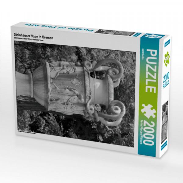 Puzzle Steinhäuser Vase in Bremen Foto-Puzzle Bild von