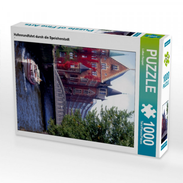 Puzzle Hafenrundfahrt durch die Speicherstadt