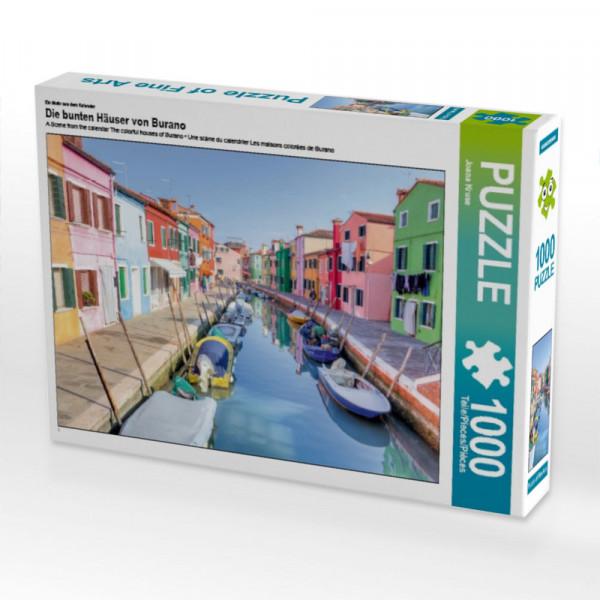 Puzzle Die bunten Häuser von Burano