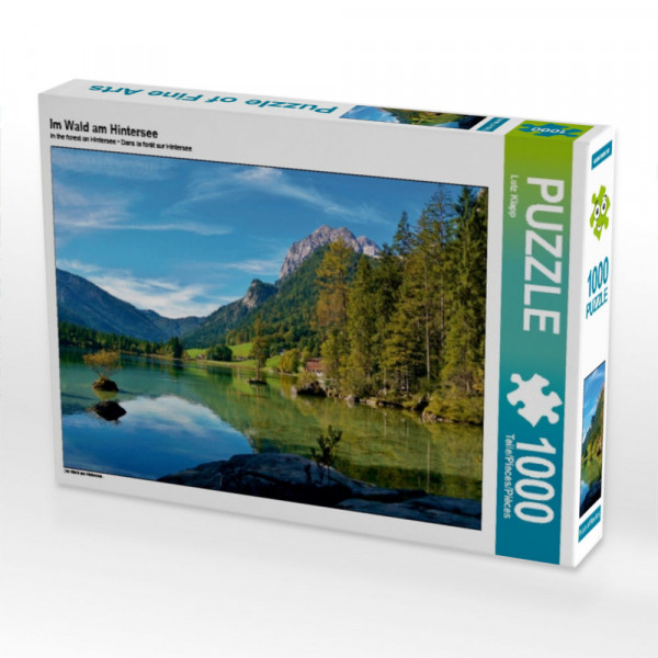 Puzzle Im Wald am Hintersee