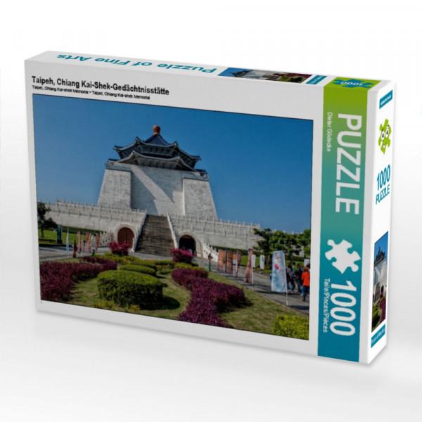 Puzzle Taipeh Chiang Kai-Shek-Gedächtnisstätte