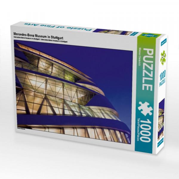 Puzzle Mercedes-Benz Museum in Stuttgart