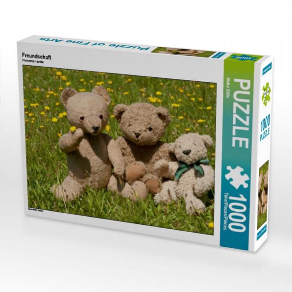 Puzzle Teddy Freundschaft