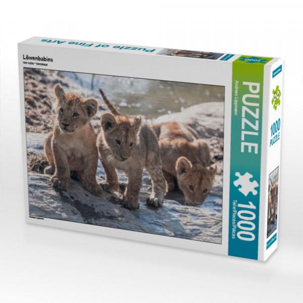 Puzzle Löwenbabies