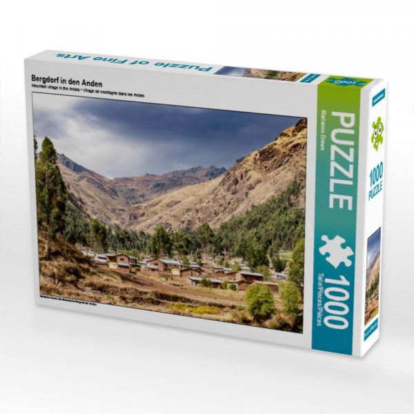 Puzzle Bergdorf in den Anden