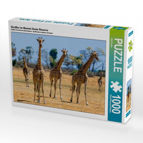 Puzzle Giraffen im Moremi Game Reserve