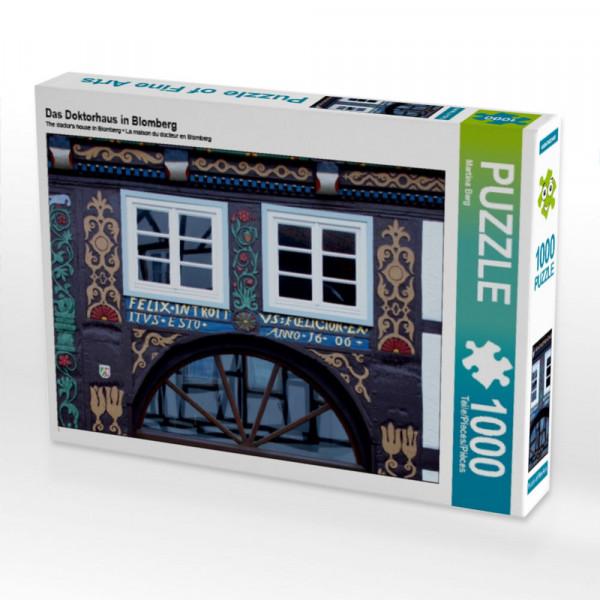 Puzzle Das Doktorhaus in Blomberg