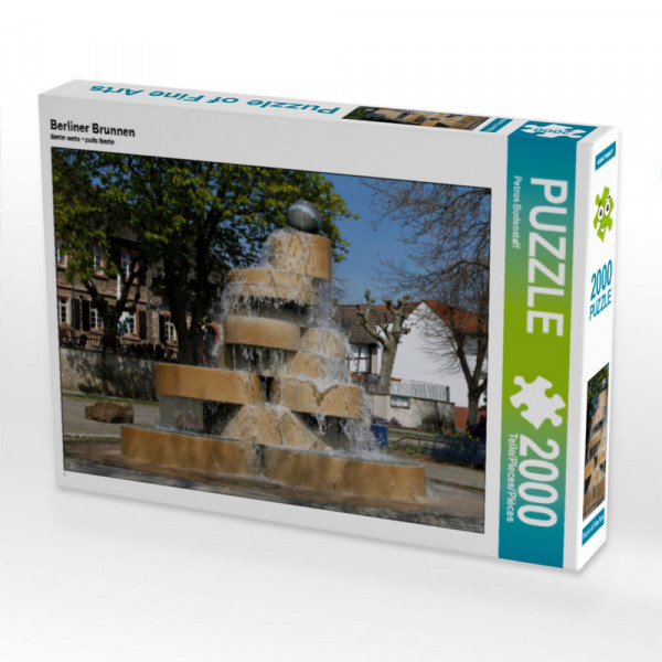 Puzzle Berliner Brunnen Foto-Puzzle Bild von Bodenstaff Petrus