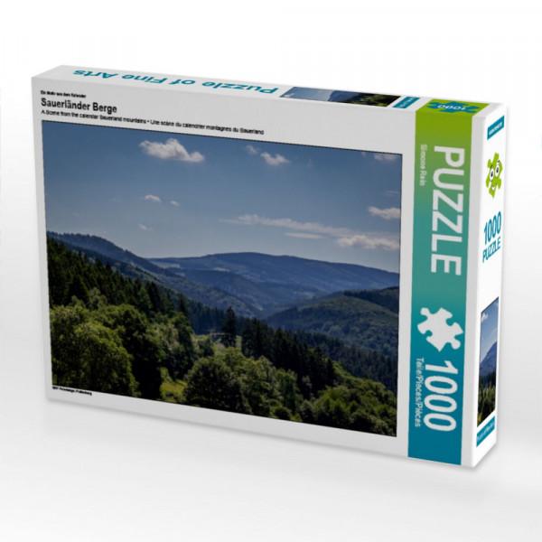 Puzzle Sauerländer Berge