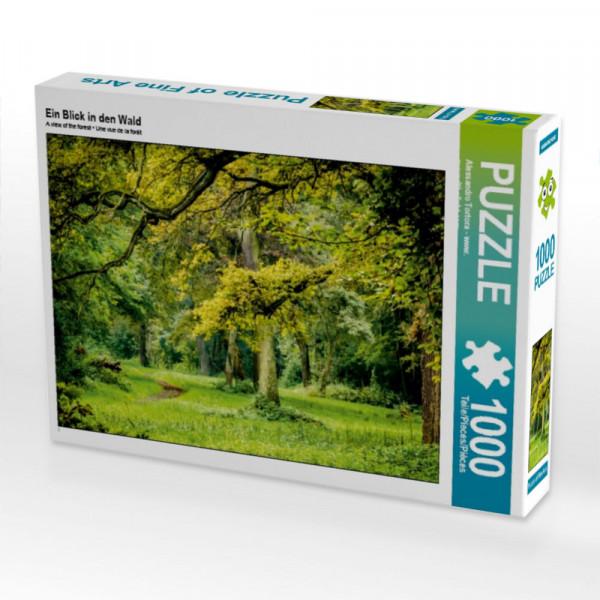 Puzzle Ein Blick in den Wald